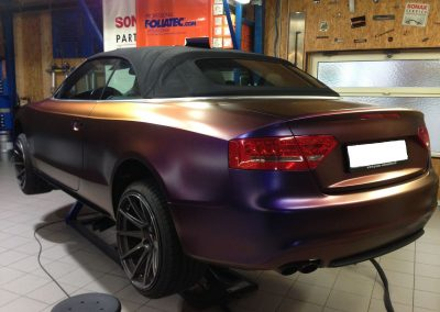 Audi S5 Vollfolierung - CarWrapping bei Exit Car Service Exit Cars & Bikes (10)