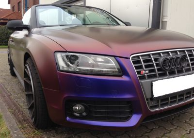 Audi S5 Vollfolierung - CarWrapping bei Exit Car Service Exit Cars & Bikes (16)