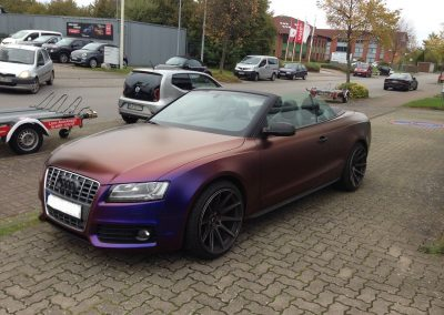 Audi S5 Vollfolierung - CarWrapping bei Exit Car Service Exit Cars & Bikes (17)