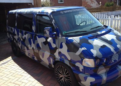 Camouflage VW T4