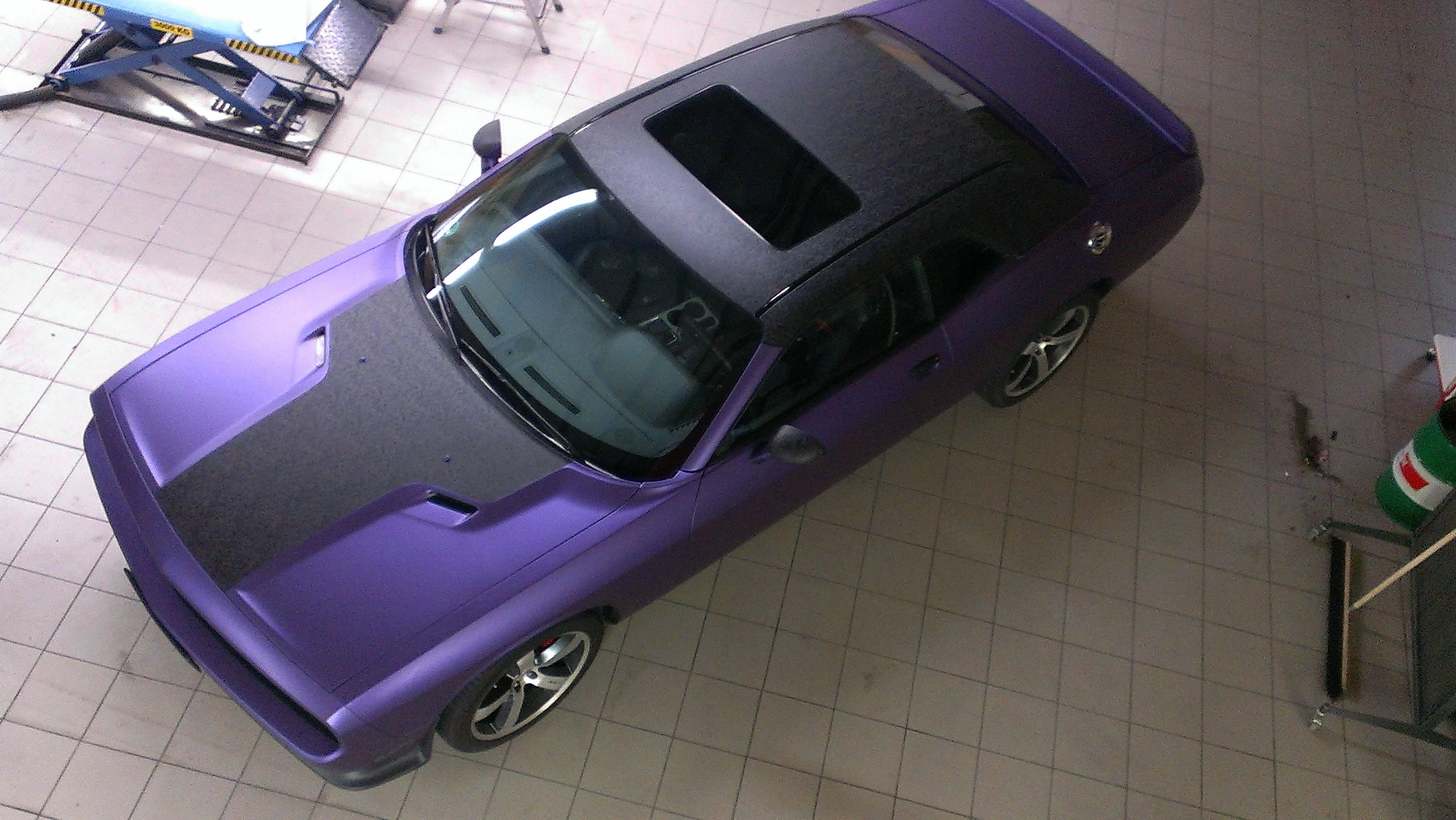 Vollfolierung / CarWrapping Dodge Challenger