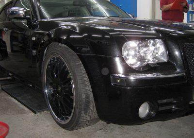 Bördelarbeiten Chrysler 300C