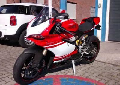 Teilfolierung Ducati