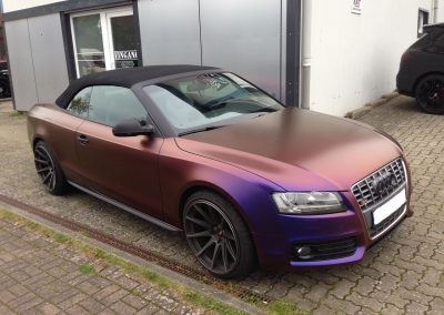 Audi S5 Vollfolierung - CarWrapping bei Exit Car Service Exit Cars & Bikes (1)
