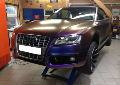 Audi S5 Vollfolierung - CarWrapping bei Exit Car Service Exit Cars & Bikes (11)