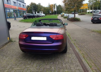 Audi S5 Vollfolierung - CarWrapping bei Exit Car Service Exit Cars & Bikes (18)