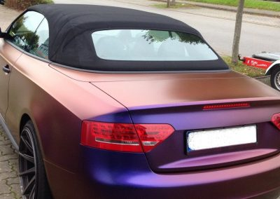 Audi S5 Vollfolierung - CarWrapping bei Exit Car Service Exit Cars & Bikes (20)