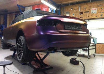 Audi S5 Vollfolierung - CarWrapping bei Exit Car Service Exit Cars & Bikes (9)