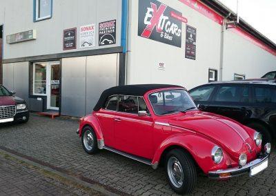 Käfer Cabrio Aufbereitung - Aufwertung bei Exit Car Service Exit Cars & Bikes (15)