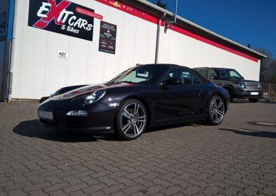 Porsche 911 997 Cabriolet Black Edition bei Exit Car Service Exit Cars & Bikes (16)