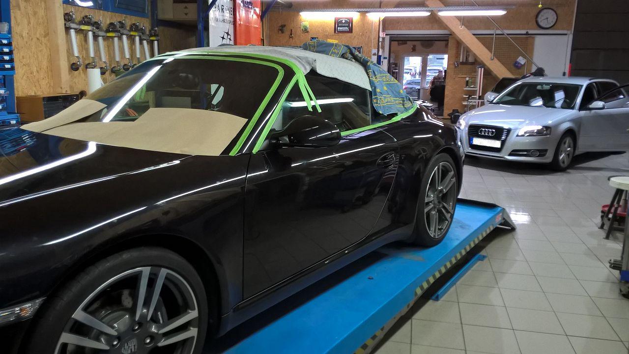 Aufwertung Porsche Boxter