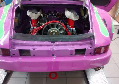 Porsche 964 Rennwagen Teilfolierung bei Exit Car Service Exit Cars & Bikes (10)