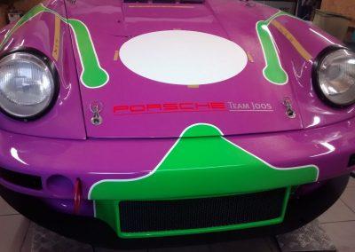 Porsche 964 Rennwagen Teilfolierung bei Exit Car Service Exit Cars & Bikes (16)