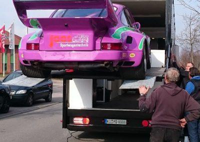 Porsche 964 Rennwagen Teilfolierung bei Exit Car Service Exit Cars & Bikes (2)