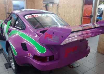 Porsche 964 Rennwagen Teilfolierung bei Exit Car Service Exit Cars & Bikes (21)