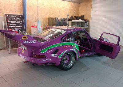 Porsche 964 Rennwagen Teilfolierung bei Exit Car Service Exit Cars & Bikes (3)