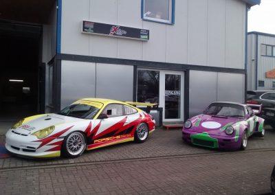 Porsche 964 Rennwagen Teilfolierung bei Exit Car Service Exit Cars & Bikes (30)