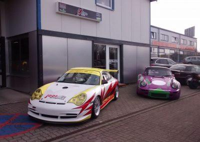 Porsche 964 Rennwagen Teilfolierung bei Exit Car Service Exit Cars & Bikes (31)