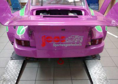 Porsche 964 Rennwagen Teilfolierung bei Exit Car Service Exit Cars & Bikes (33)