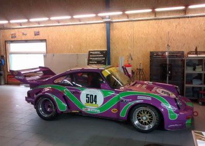 Porsche 964 Rennwagen Teilfolierung bei Exit Car Service Exit Cars & Bikes (4)