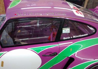 Porsche 964 Rennwagen Teilfolierung bei Exit Car Service Exit Cars & Bikes (8)