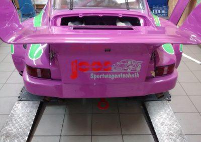 Porsche 964 Rennwagen Teilfolierung bei Exit Car Service Exit Cars & Bikes (9)