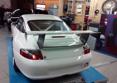 Porsche 996 Rennwagen Teilfolierung bei Exit Car Service Exit Cars & Bikes (12)