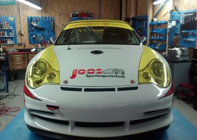 Porsche 996 Rennwagen Teilfolierung bei Exit Car Service Exit Cars & Bikes (29)