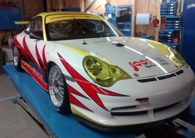 Porsche 996 Rennwagen Teilfolierung bei Exit Car Service Exit Cars & Bikes (30)