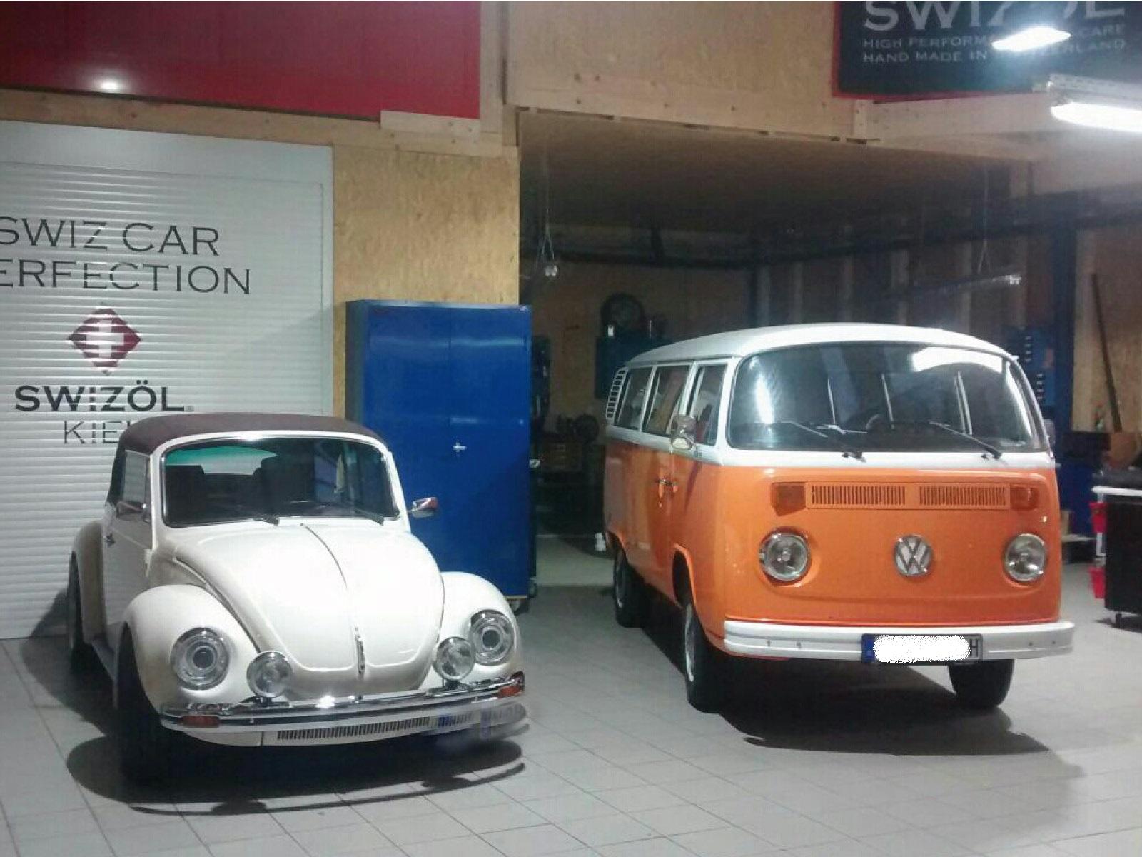 VW Käfer und Bulli